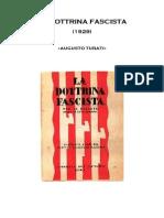 Augusto Turati La Dottrina Fascista 1929