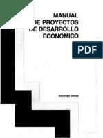 MANUAL DE PROYECTOS DE DESARROLLO ECONÓMICO