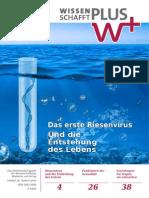 Wissenschafftplus 01 / 2014 Januar Februar