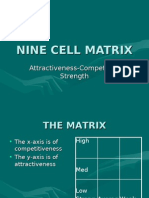 Nine Cell Matrix
