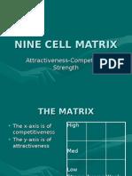 Nine Cell Matrix