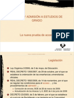 Presentacion Nueva PAU