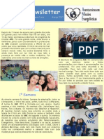 Newsletter - Março 2013