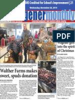 Wagener Monthly 11-26-14