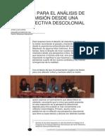 Esbozos Para El Análisis de La Misión Desde Una Perspectiva Descolonial