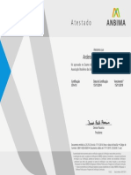 Certificado Anbima - CPA 10