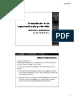 Generalidades de La Produccion