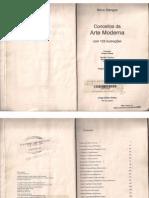 Conceitos Da Arte Moderna - Nikos