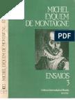 Montaigne Ensaios 3