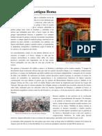 Estilos de pintura en la Antigua Roma