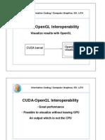 12c OpenGL interoperability