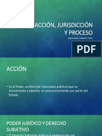 Acción, Jurisdicción y Proceso