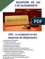 Unidad didactica 1 Recepción
