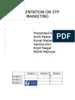 Presentation on Stp Marketing