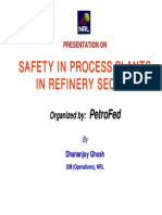 Safety in Process Plant in refinery sector