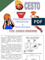 BALONCESTO FUNDAMENTOS TECNICOS