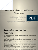 Transformada de Fourier exposicion