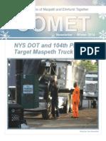 Comet Winter 2014 Newsletter