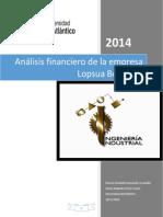 Análisis financiero de la empresa Lopsua Boutique.docx