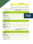 Evaluacion de Desempeño Excell 2013