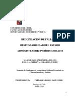 Tesis Fallos Derecho Administrativo