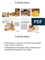 SCI 241 Carbohydrate Presentation