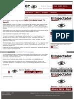 18-11-14 Entregan 430 mdp a afectados por derrame en río Sonora