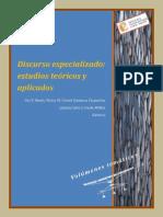 Discurso Especializado Lingüística
