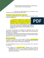 J SANDOVAL - Representaciones Del Sujeto-ciudadano en Los Discursos Del 'Saber Experto' en Chile