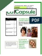 La CAPSULE - Mai - Juin - 2009