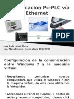 Comunicación Pc-PLC Vía Ethernet