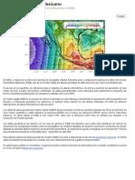 Introducción Al Geoide Gravimétrico Mexicano (GGM)