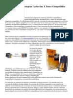 Ahorra Dinero Al Comprar Cartuchos Y Toner Compatibles Para Tu Impresora