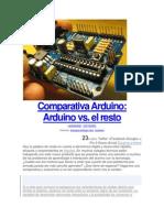 Comparativa Arduino