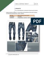 "Plan de negocio de empresa de confeccion jeans para hombre ""kairos"""