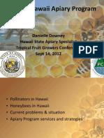 2012 Hawaii Apiary Program