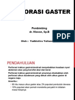Portofolio 2 - Perforasi Gaster
