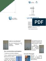 Diptico La Bureta