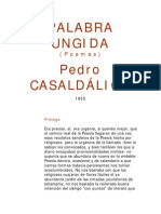 Palabra Ungida - Pedro Casaldáliga