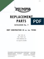 Triumph Parts Catalog 1969 Du85904