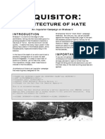 Architecture of Hate