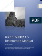 KK2.1.X Instruction Manual V1.16S1 Pro