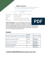 Fall 2014-Cost Syllabus