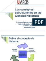 Conceptos Estructurantes en Las Ciencias Sociales