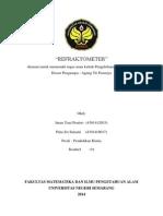 makalah refraktometer