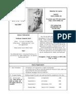 UT Dallas Syllabus for ahst3316.501.07f taught by Deborah Stott (stott)