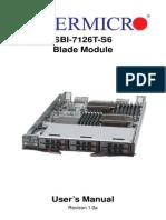 SBI 7126T S6 Blade Module