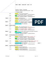 UT Dallas Syllabus for huma1301.007.07f taught by   (jlh036000)