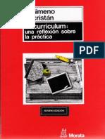El Curriculum Como Concurrencia de Practicas