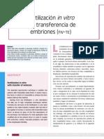1 Fertilización in Vitro Con Transferencia de Embriones
